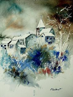 pol ledent | Pol Ledent Watercolor Fine