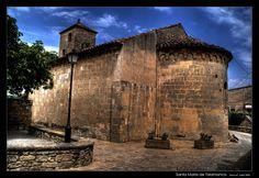 Santa Maria de Talamanca - Talamanca, Comarca del Bages (Barcelona) | Foto:  Marc Serarols