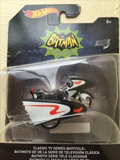 Batcycle Serie de TV clásica Hotwheels