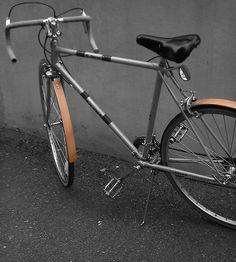 Reclaimed Wood Bike Fender By Redesign Studios. Super rad wood bike fenders made from salvaged wood. Love!