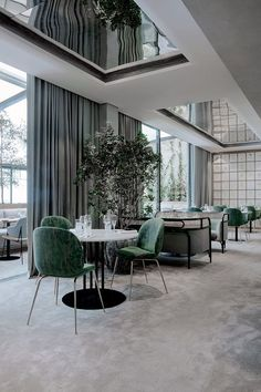 Interior design Presentation Restaurant - Located along the ChampsÉlysées in Paris, Maison du Danemark has recently been renovated to include two exquisite new restaurants On the ground floor is Flora Danica, a highend brasserie, and on th Restaurant Design, Deco Restaurant, Luxury Restaurant, Design Hotel, Restaurant Lighting, Classic Interior, Cafe Interior, Modern Interior Design, Interior Architecture