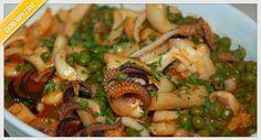 Ricetta di seppie e piselli | Cucinare alla napoletana