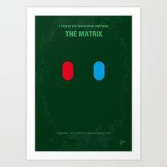My MATRIX minimal movie poster Art Print by Chungkong - $18.00