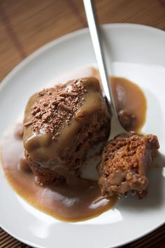 Scottish recipes for sticky toffee pudding are really popular and no wonder - this dessert is heavenly! The following recipe is an authentic recipe for sticky toffee pudding and features mouthwatering ingredients like dates, treacle, vanilla, syrup and more. The sauce is made with instant butterscotch pudding. Unlike when you make pudding normally, in this recipe you are going to use extra milk.