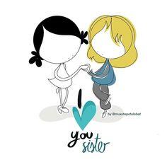 Porque siendo tan diferentes, tenemos tanto corazón en común. Porque estás y eres en mi Vida: En cada detalle, llamada, tiempo, ausencia, risa y conversación compartida. Y por tu fabuloso e increíble pastel de merluza. Te quiero hermana. Y te lo digo hoy, porque sí. #EeeegunonMundo!!
