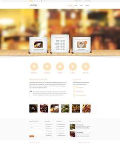 "Download FREE ""Artcafe"" PSD ... http://www.affinitythemes.com/ #webdesign  #psd   #free"