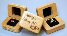 W-RB - Wooden Ring Box