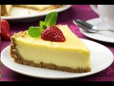 Чизкейк с маскарпоне: рецепт и фото на сайте Всё о десертах