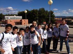 Equipo matemático del Colegio San Cristóbal en la Olimpiada Matemática 2013
