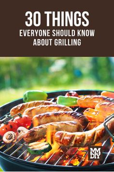 Warm weather means more BBQ time! We're sharing our thirty favorite grilling tips, ideas, techniques, and bits of knowledge to help you produce the best food your grill can produce. // Grilling Tips // BBQ Tips // Grilling Techniques Grilling Tips, Bbq Tips, Every Man, Warm Weather, 30th, Beef, Recipes, Knowledge