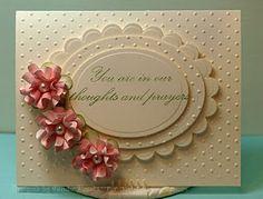 sympahty card by Glenda Talbott