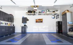 Who doesn't love an organized, functional garage? If you spend a lot of time in your garage, you'll be glad to have a TV out there. It takes only minutes to install a HIDEit Mount, so you can get right back to your DIY projects!