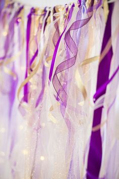 Purple & Gold Cake Backdrop by Angelic Edge Designs @angeli