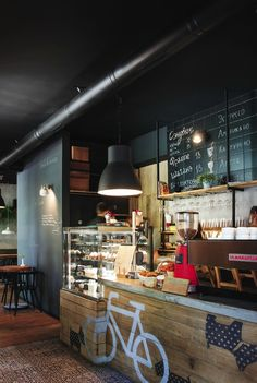 Заведение недели: молодежное кафе в Кривом Роге: Рестораны в стилях Лофт, Минимализм, город Кривой Рог   Архидея