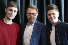 TOTAL pleasure meeting #Eurovision legend Björn Ulvaeus!! #ABBA by joeandjakemusic #Eurovision #Eurovision2016