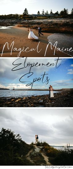 Planning your Maine elopement? Get some ideas for a special seaside spot. Elope Wedding, Destination Wedding, Wedding Venues, Wedding Photos, Wedding Planning, Dream Wedding, Wedding Ideas, Park Weddings, Small Weddings