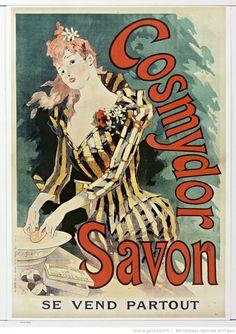 Cosmydor savon... : [affiche] / [Jules Cheret], 1891