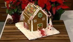 the chew | Recipe | Carla Hall's Gingerbread House