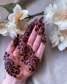 Palm Mehndi Design, Latest Henna Designs, Floral Henna Designs, Henna Art Designs, Mehndi Designs For Girls, Mehndi Designs For Beginners, Modern Mehndi Designs, Dulhan Mehndi Designs, Mehndi Design Photos
