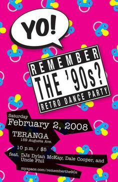 1990s Party Theme | party like it s you know