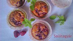 Kókuszlisztes muffin málnával (gluténmentes) Muffin, Coconut Flour, Paleo Recipes, Paleo Food, Clean Eating, Food Porn, Gluten Free, Keto, Sweets