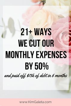 Wow! They cut their expenses by 50% and paid off $13,000 in debt in 6 months!