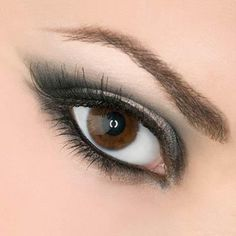 Arabic Eye Makeup Muted Arabic Eye Makeup Arabic Make Up! Arab girls make up (strong) makeup Smokey+eye+makeup Eyes - Makeup Tutorial eyes i. Beautiful Eye Makeup, Natural Eye Makeup, Natural Eyes, Gorgeous Eyes, Eye Makeup Tips, Smokey Eye Makeup, Makeup Trends, Smoky Eye, Makeup Ideas
