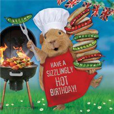 Kartka urodzinowa Hot Stuff