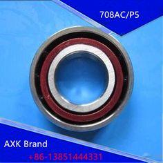1PCS AXK 8mm 708 708C 708AC 8x22x7 Spindle Angular Contact Ball Bearings 708C/P5 SUPER PRECISION BEARING ABEC-5