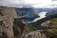 Trolltunga Foto: Terje Nesthus  Place I want to see