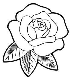 Dibujos De Rosas Para Colorear Buscar Con Google Repujado