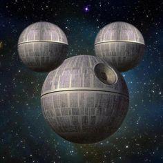 Star Wars: Disney by Natalie Hambly Disney Love, Disney Magic, Star Wars Disney, Star Force, Pixar Characters, Star Wars Love, Disney Memes, Disney Pixar, Walt Disney