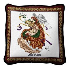 Angel Of Hope Pillow