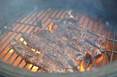 I love #flanken cut #beef #shortribs on the #kamado #grill. The charcoal is a match made in heaven!