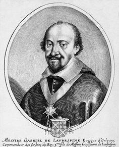 Gabriel de l'Aubespine - gravure de Daret - repro © Norbert Pousseur