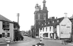 Old photo of The Village c1955, Horndean