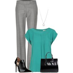 """Olivia Pope Wears the White Hat"" by moosegodstiel on Polyvore"