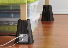USB Bed Risers