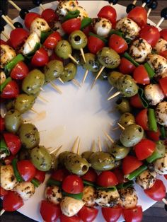 Finger food appetizers skewers #appetizers