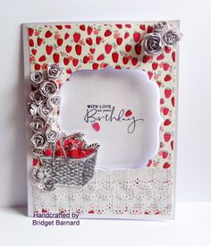 Made with craftwork cards papers the theme was Summer