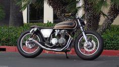 Stainless Steel Slip on Muffler Honda CB550 CB750 SOHC Cafe Racer Chopper Brat | eBay