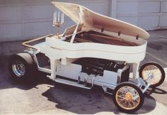 Jay Ohrberg's Piano Car.  This car is now on display at the Volo Auto Museum, Volo, IL.   www.volocars.com