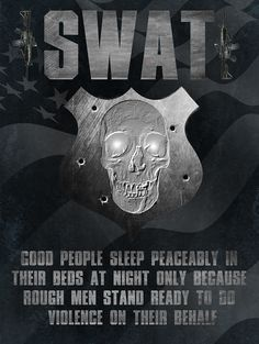 SWAT law enforcement police poster