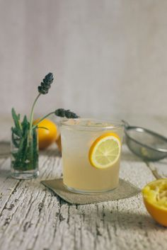 Lavender Meyer Lemon Drink