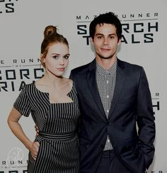 stileslydiamartinstilinski - nogitsexy:   Holland Roden and Dylan O'Brien...