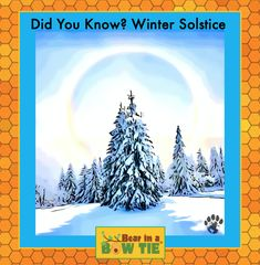 Marks the longest night and shortest daylight when the sun is at the lowest elevation in the sky. Fun Facts For Kids, The Longest Night, Children's Picture Books, Winter Solstice, Amazing Adventures, Book Illustration, Adventure Travel, Product Launch, Bow