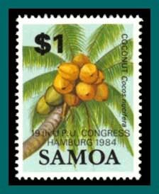 Samoa Stamps 1984 UPU Congress, MNH - bidStart (item 26465774 in Stamps, Australia & Oceania, Other)