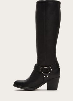 FRYE | Tabitha Harness Tall - Black  This is THE boot!
