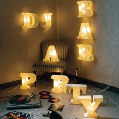 Lighttype Fine Porceline Letters by Seletti. Each letter sold separately. Make your own words! Origin: Italy $213