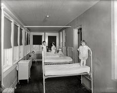 "Takoma Park, Maryland, circa 1928. ""Washington Sanitarium, children."" National Photo Company Collection glass negative. View full size."
